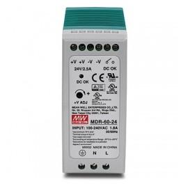 Trendnet Adaptador de Corriente TI-M6024, 60W, 100 - 240V