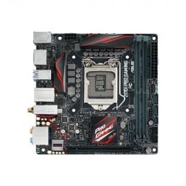Tarjeta Madre ASUS mini ITX Z170I Pro Gaming, S-1151, Intel Z170, HDMI, USB 2.0 3.0 3.1, 32GB DDR4, para Intel