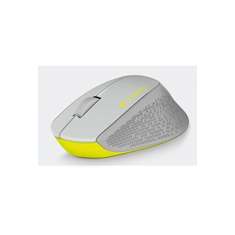 Mouse Logitech Óptico M280, Inalámbrico, 1000DPI, USB