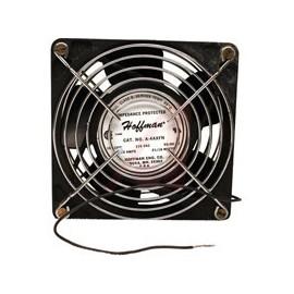 Hoffman Ventilador A4AXFN, 50-60Hz, 15cm, Negro