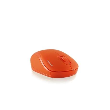 Mini Mouse Acteck Óptico Xplotion 300, Inalámbrico, USB, 1000DPI, Naranja