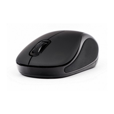 Mini Mouse Naceb Óptico NA-563N, Inalámbrico, 1000DPI, Negro