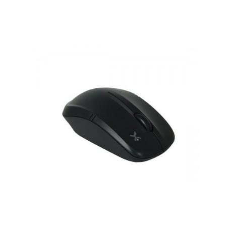 Mouse Perfect Choice Óptico Essentials PC-044758, Inalámbrico, USB, 1600DPI, Negro