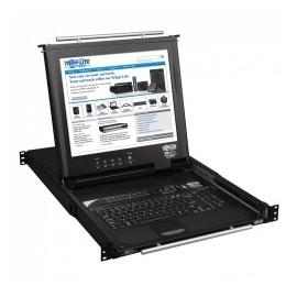 Tripp Lite Consola KVM NetDirector para Rack, 16 Puertos, 1U, incluye Pantalla 17
