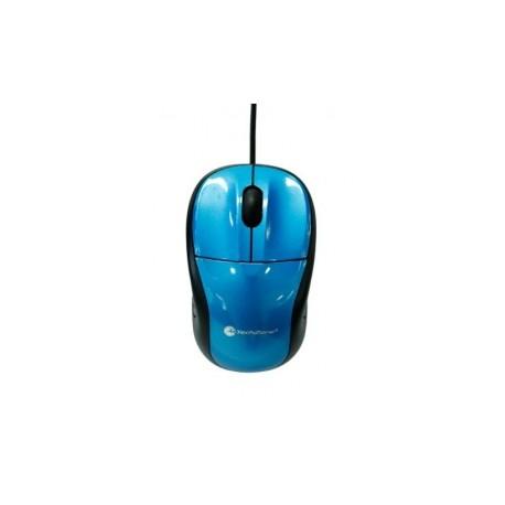 Mouse TechZone Óptico TZ15M22, Alámbrico, 800DPI, USB, Azul